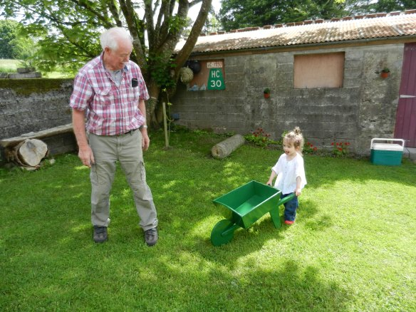 Our wheelbarrow in Ireland