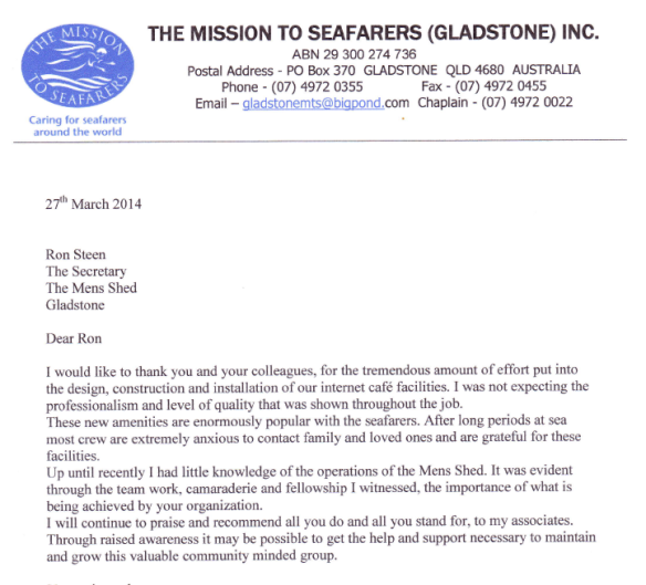 Mission for Seafarers