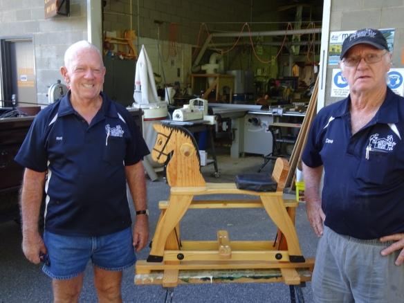 Men's Shed rocks on for the Capricorn Helicopter Service