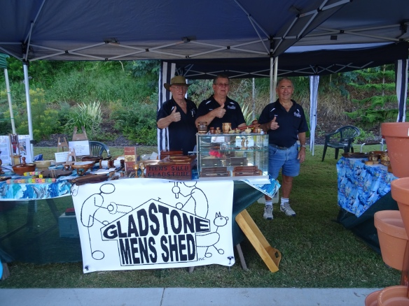 Thumbs Up Gladstone Men Shed Feast on East 1